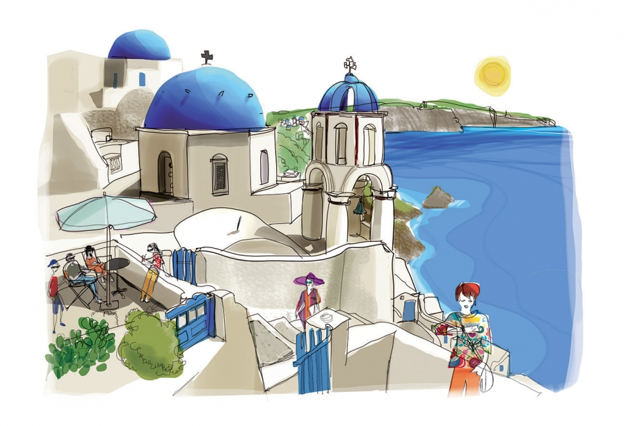 Santorini- MFK Publishing